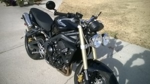 My 2011 Street Triple for sale
