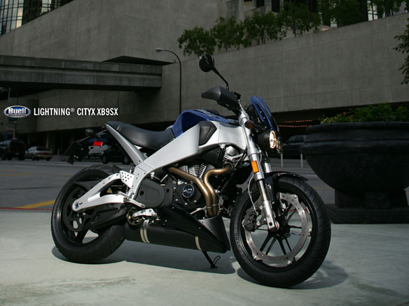 Seven Buell XB Models Are Refined for 2007