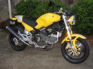 Yellow 900 Monster