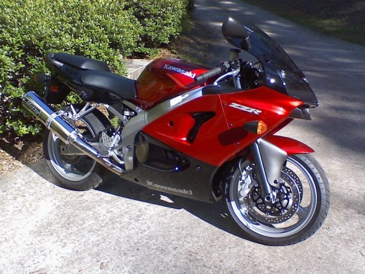 2007 ZZR600