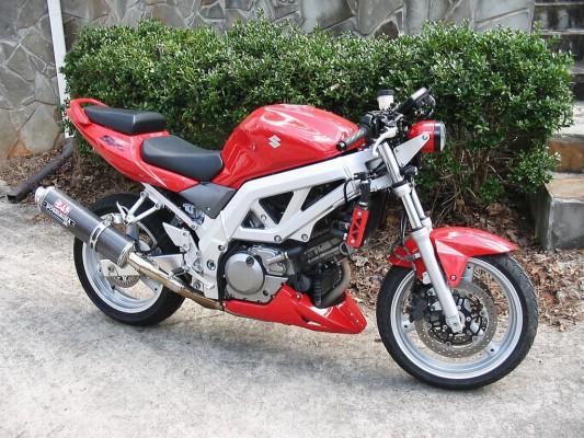 03 SV650S conversion