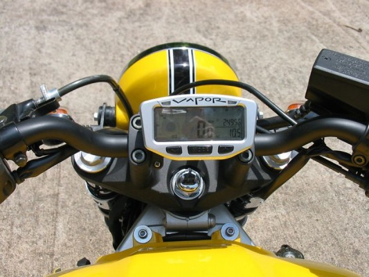 Seat view- gauges