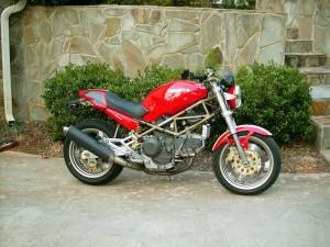 Red 900 Monster