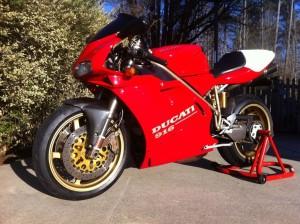 Ducati 916 repairs