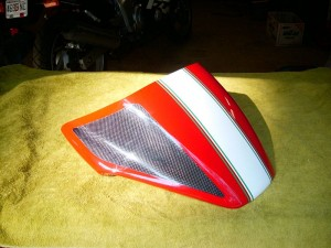 Carbon Fiber Seat Cowl