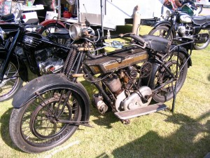 1920's Royal Enfield- no details on this bike but it is cool
