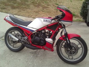 1985 Yamaha RZ350 project