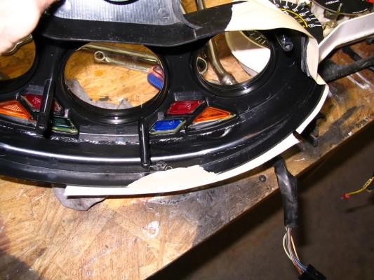 broken gauge bezel