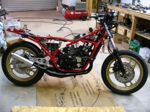 Yamaha RZ350 restoration- part 13