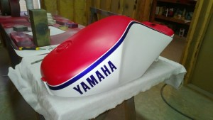 Yamaha RZ350 restoration- part 15