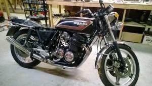 1977 Honda CB750 project