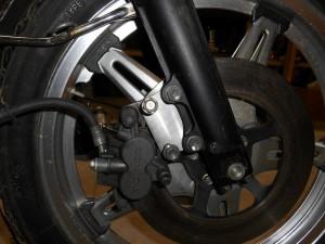 1977 Honda CB750F Project- Brakes!