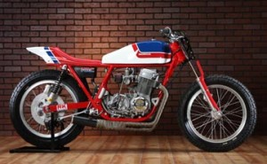 CB750 Street Tracker side
