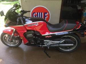 1985 Kawasaki Ninja 900 update