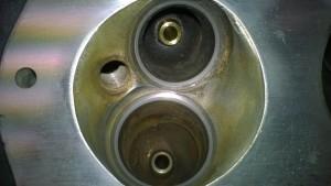 lapped valve seats