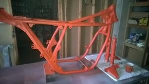 Honda CB750F Update 10- Frame