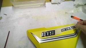 Bultaco Metralla GTS Paint