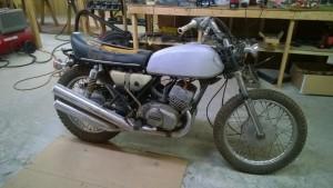 1973 Kawasaki S1 250cc triple