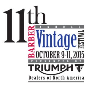 2015 Barber Vintage Festival Oct 9-11