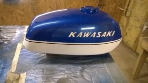 1973 Kawasaki S1 update 6