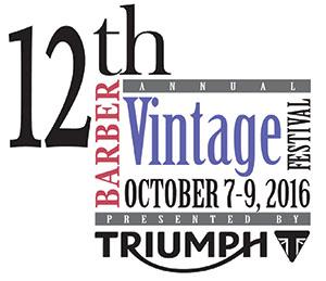 2016 Barber Vintage Festival
