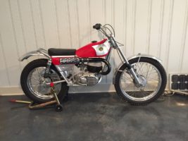 1970 Bultaco Sherpa T finished !