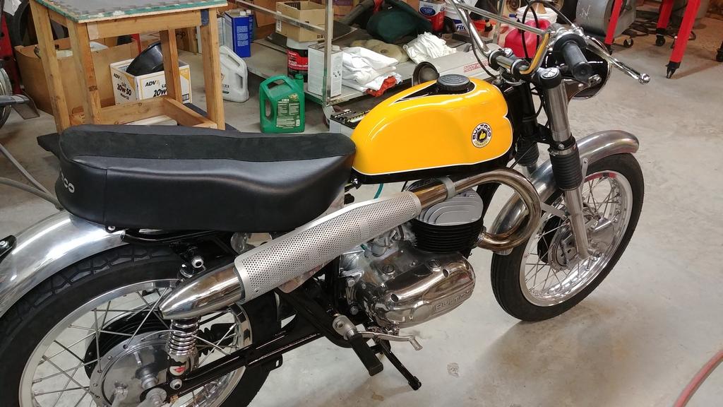 1969 Bultaco El Tigre restoration- final