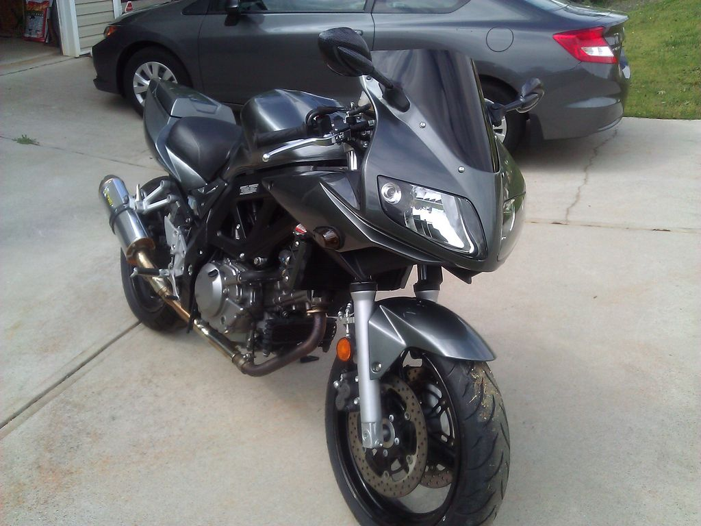 SV650S finished and for sale